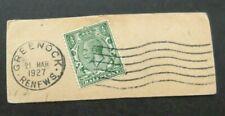 GB-1927-Greenock Postmark