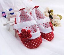 Flower Baby Shoes Soft Sole Sizes 0-18M - Anti-Slip