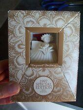 Margaret Furlong Christmas Ornament 1997 Special Edition Iris Angel SeaShell