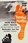 Barefoot Adventure 1961 Bruce Brown Surf Movie Poster Home Decor Gift