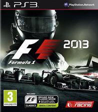F1: fórmula 1 2013 PS3 * En Excelente Estado *