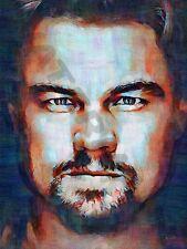 LEONARDO Wilhelm DiCaprio Departed art print poster dipinto ad olio lff0109