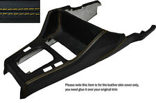 YELLOW STITCH GEAR SURROUND LEATHER SKIN COVER FITS BMW 3 SERIES E30 84-91