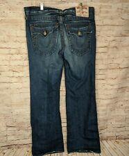 True Religion Men's Size 36 Billy Boot Cut Jeans Dark Wash