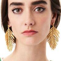 Fashion Elegant Women Hollow out  leaves Earrings Stud Drop Dangle Earring