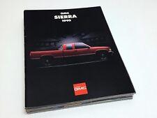 1995 GMC Sierra Brochure - French