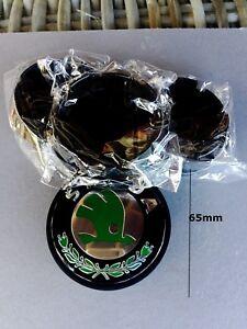 4 x 65mm SKODA wheel caps Chrome & Black 3B7601171 New jetta Fabia, octiva