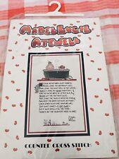 Mabel Lucie Attwell Cross Stitch Kit Bathroom Plaque Sampler New RARE