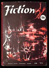 REVUE  FICTION  N°  114- 1963  - COMME NEUF/ NEUF - - NON LU -