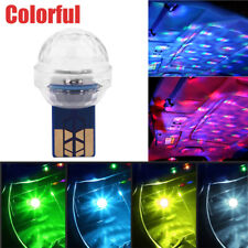 1x Mini USB LED Car Interior Atmosphere Neon Light Colorful Music Decor Lamp