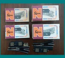 LIMA VINTAGE 531 e 532 LOTTO N.14 SCAMBI MANUALI ed ELETTRICI COME NUOVI SCALA-N