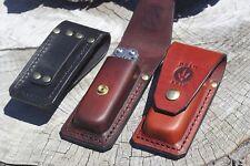 Leatherman multitool leather sheath-SURGE 300 genuine handmade knife pouch