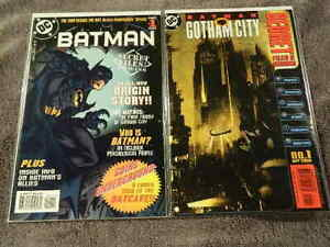 1997-2000 DC Comics SECRET FILES & ORIGINS #1 BATMAN & GOTHAM CITY 1-shots VF/NM