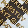 In legno MDF Lettere,Alfabeto & Numeri Dimensioni 2-10cm Artigianato Matrimoni