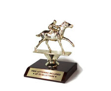 Race Horse Trophy- Racing- Derby- Track- Jockey- Desktop Series- Free Lettering