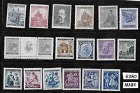 #6380   MNH stamp set Regular postage WWII Germany Occupation Third Reich Hitler