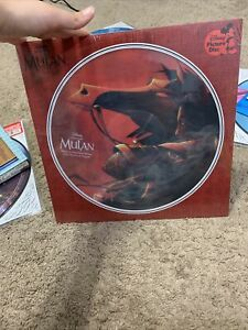Mulan Disney Collection Picture Disc Record Vinyl