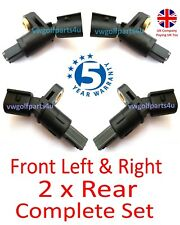 VW AUDI Front & Rear ABS Speed Sensor Left & Right o/s n/s MK4 Golf A3 TT SEAT