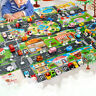 Play Mat City Road Buildings Car Parking Map Game Scene Toy Children Kids Gifts