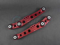 Blox Rear Lower Control Arms V2 Red 92-95 Civic EG 94-01 Integra