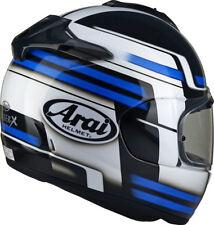 ARAI CHASER X COMPETITION BLUE MOTORCYCLE HELMET - MEDIUM