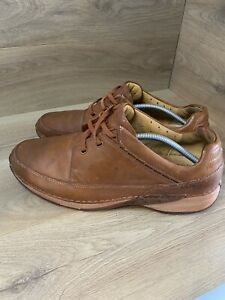 Clarks Active Air Brown Leather Casual Shoes UK 11