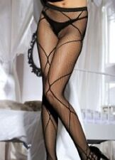 PATTERNED BLACK NET TIGHTS QUALITY FASHION PANTYHOSE HOSIERY FAST FREE POST