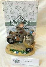 """Charming Tails """"Along For The Ride"""" Figurine (89/100) Fitz and Floyd With Box"""