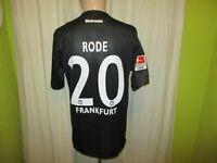 """Eintracht Frankfurt Jako Ausweich Trikot 2011/12 """"FRAPORT"""" + Nr.20 Rode Gr.M TOP"""