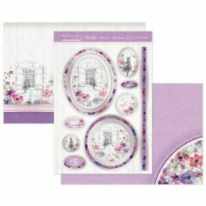Hunkydory   Luxury Topper Set   An Artist's Garden   Purrfect Poppies