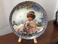 VTG Friends for Keeps Collection PUPPY LOVE Plate No 823 PL by Sandra Kuck RECO