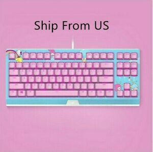 Razer x Sanrio Hello Kitty¹ Wired Exclusive 87 Key Backlit Mechanical Keyboard