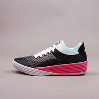 Puma Basketball Clyde All-Pro Black Luminous Pink Hoops New Men Shoes 194039-02