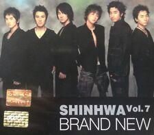 Shinhwa Vol. 7 Brand New (2004, Good! EMI CD + Booklet) KPOP