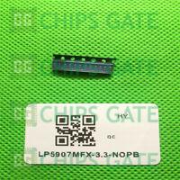 6PCS LP5907MFX-3.3/NOPB IC REG LDO 3.3V 0.25A SOT23-5 TI