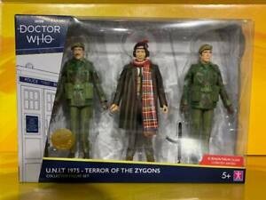 Doctor Who - U.N.I.T. 1975 - Terror of The Zygons Collector Figure Set