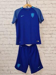 Football set shirt soccer Netherlands Holland Away 2016/2017 Nike Shorts Kids XL