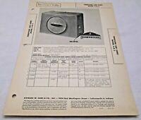 Vtg Sams Photofact Folder Firestone (Air Chief) Model 4-B-2 Radio Parts Manual