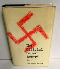 Official German Report by O Rogge signed/J M Hayes Hitchcock Moviescreen Writer