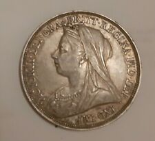 More details for victoria british silver 1897 crown