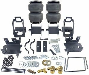 air bag helper springs kit w/4 ply airbags no drill for 1999-2004 ford f250 f350