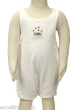 JACADI Girl's Lactame Natural Sleeveless Jersey Overall Size 6 Months NWT $42