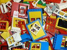 LEGO® 50 Türen und Fenster verschiedene Farben und Formen Doors and Windows
