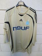 VINTAGE Maillot OM MARSEILLE Adidas or ancien XL shirt maglia