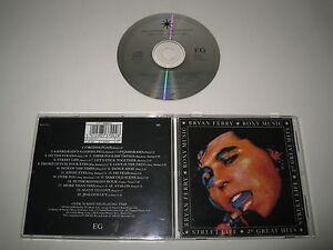 Bryan Ferry / ROXY Music/ Streetlife/ 20GREATEST Hits (EGCTV1) CD Álbum