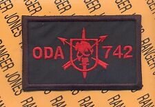 7th Special Forces Group Airborne ODA 742 CTT pocket patch