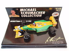 Paul's Model Art Benetton Ford b192 M. schumacher Edition 64 Nº 1 NOUVEAU u. OVP