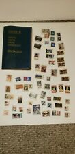 Rare 63 Stamp Collection & 1974 Scott United States Stamp Catalogue
