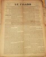 Il Figaro Montaggio Letterario N° 43 Ottobre 1888 Alexandre Dumas Fili