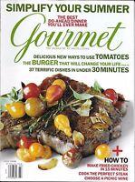 Gourmet Magazine Perfect Steak Summer Recipes Hamburger Fried Chicken Picnic